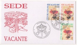 VATICANO !!! 2005 SERIE SEDE VACANTE VENETIA CLUB !!! 380 BIS/V - FDC
