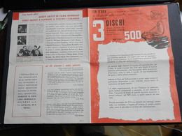 6c) PUBBLICITA' DISCHI MUSICA CLASSICA CLUB COLLEZIONISTA 1958 CIRCA - Altri Oggetti