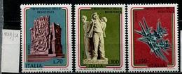 Italie - Italy - Italien 1975 Y&T N°1219 à 1221 - Michel N°1486 à 1488 *** - Anniversaire De La Résistance - 6. 1946-.. Republik