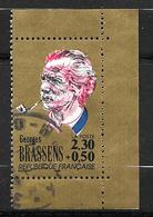 FRANCE 2654 Grands Noms De La Chanson Française Georges Brassens  . - Oblitérés