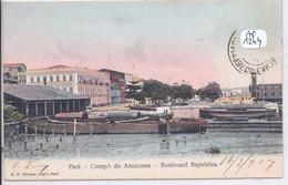 PARA- COMPA DO AMAZONAS- BOULEVARD REPUBLICA - Belém
