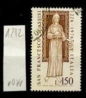 Italie - Italy - Italien 1976 Y&T N°1272 - Michel N°1540 (o) - 150l Saint François D'Assise - 6. 1946-.. Republik