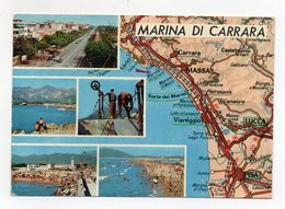 Marina Frazione Del Comune Di Carrara (Massa-Carrara)  - Viaggiata Nel 1974 - (FDC15059) - Carrara