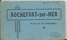 ROCHEFORT SUR MER - CARNET DE 10 VUES COLORISEES - Rochefort