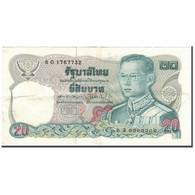 Billet, Thaïlande, 20 Baht, KM:88, TTB - Thaïlande