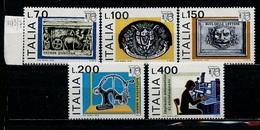 Italie - Italy - Italien 1976 Y&T N°1273 à 1277 - Michel N°1541 à 1545 *** - Exposition Philatélique Italia 76 - 6. 1946-.. Republik