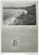 échouage Du Torpilleur 168 à Sanary, Près Toulon - Page Original  - 1897 - Historische Dokumente