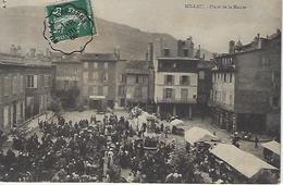 Millau-place De La Mairie-marché - Millau