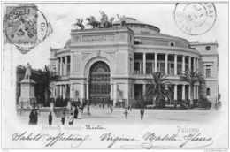 PALERMO POLITEAMA GARIBALDI PRECURSEUR 1901 TBE - Palermo