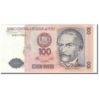 Billet, Pérou, 100 Intis, 1987-06-26, KM:133, TTB - Pérou