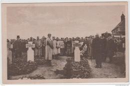 CAMP DE PRISONNIERS QUEDLINBURG ALLEMAGNE INAUGURATION DU MONUMENT AUX PRISONNIERS MORTS MANNSCHAFTSGEFANGENENLAGER TBE - Weltkrieg 1914-18