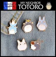 Lot De 5 Pins Pin's NEUFS En Métal ( Brooch ) - Manga Totoro - Comics