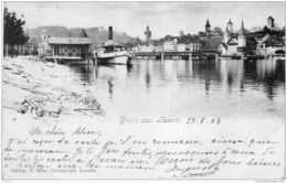 LUCERNE LUZERN GRUSS AUS PRECURSEUR 1903 TBE - LU Lucerne