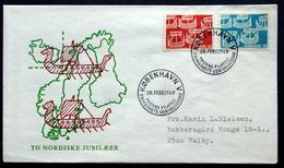 Denmark 1969 Cz.Slania  NORDEN FDC MiNr.475-76 Viking Ships/ Wikingerschiffe ( Lot Ks ) - FDC