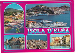 Isola D'Elba : FERRYBOATS , 'NAV.AR.MA' Lines- Multiview - Livorno