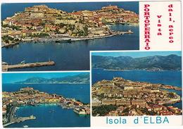 Isola D'Elba : Portoferraio Vista Dall 'aereo - Multiview - Livorno