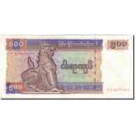 Billet, Myanmar, 500 Kyats, KM:76b, TTB+ - Myanmar