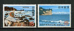 JAPON 1970 N° 986/987 ** Neufs MNH Superbes C 1 € Parc National Noto-Hanto Côte Kinoura Montagnes Tate - 1926-89 Kaiser Hirohito (Showa Era)