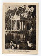 Roma - Il Laghetto Di Villa Umberto - Bel Timbro A Targhetta - Viaggiata Nel 1948 - (FDC15065) - Parks & Gardens