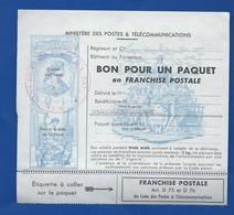 Feuillet N°15  Bon Pour Un Paquet En Franchise Militaire    Neufs - Franchise Stamps