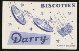 Buvard - BISCOTTES DARRY - Buvards, Protège-cahiers Illustrés