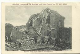 Bahnhof Langemarck 24 Stunden Nach Dem Sturm Am 22 April 1915 (1251) - Langemark-Poelkapelle
