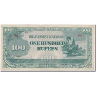 Billet, Birmanie, 100 Rupees, KM:17b, SUP - Myanmar