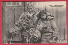 China / Chine - Mission Des Jésuites - Mendiant Et Son Petit-fils ( See Always Reverse ) - Chine