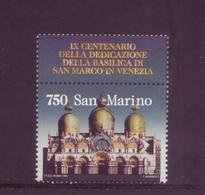 San Marino 1994 - Basilica Si San Marco, 1v MNH** Da Foglietto - San Marino