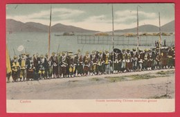 China / Chine - Canton - Guards Surrounding Chinese Execution Ground (see Always Reverse ) - Chine