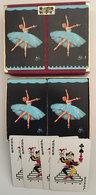Coffret Jeux Cartes Danseuses - 54 Cartes