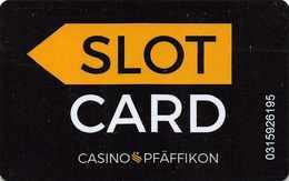 Slotcard / Casinokarte / Playerscard - CASINO PFÄFFIKON - SWITZERLAND - Casino Cards