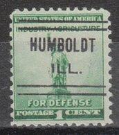 USA Precancel Vorausentwertung Preo, Locals Illinois, Humboldt 632 - Vereinigte Staaten