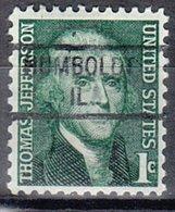 USA Precancel Vorausentwertung Preo, Locals Illinois, Humboldt 841 - Vereinigte Staaten