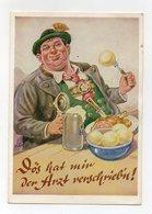 Germania - Cartolina Umoristica - Viaggiata Nel 1964 - (FDC15068) - Humor