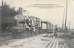 Les Chemins De Fer Français (P.L.M) Le 918 Clermont-Ferrand-Vichy-Paris Express, Wagon Restaurant - F.F. N° 2 - Eisenbahnen
