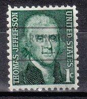 USA Precancel Vorausentwertung Preo, Locals Illinois, Irvington L-1 TS - Vereinigte Staaten