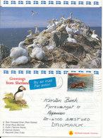 Great Britain Photoletter Shetland Islands 15-1-1992 Sent To Denmark - 1952-.... (Elizabeth II)