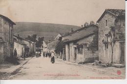 HAUTE MARNE  - AUTIGNY LE GRAND - La Grande Rue  ( -  Timbre à Date De 1907 Et Animation ) - Autres Communes