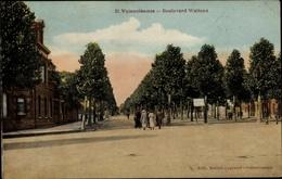 Cp Valenciennes Nord, Boulevard Watteau, Straßenansicht - France