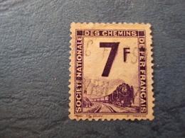 """1944-47 Petits Colis Postaux - Timbre Oblitéré   N° 6    """"  7 F Violet   """"         1       Photo     3 - Colis Postaux"""