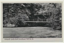 AK  Aach Quelle  1937 - Unclassified
