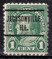 USA Precancel Vorausentwertung Preo, Locals Illinois, Jacksonville 632-L-2 E - Vereinigte Staaten