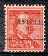 USA Precancel Vorausentwertung Preo, Locals Illinois, Jerseyville 704 - Vereinigte Staaten