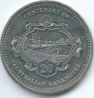 Australia - Elizabeth II - 20 Cents - 2013 - Centenary Of Banknotes - 10 Shilling - KM1961 - Decimal Coinage (1966-...)