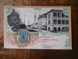 """La Chaux De Fonds 1902 Carte Postale """"Grande Rue"""" / Suisse - NE Neuchâtel"""