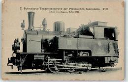 52956131 - C Schmalspur-Tenderlokomotive Preuss. Staatsbahn - Trains
