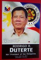 Rodrigo Duterte Presidential Card - Philippinen