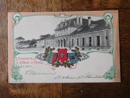 """La Chaux De Fonds 1902 Carte Postale """"La Gare"""" / Suisse - NE Neuchâtel"""