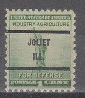 USA Precancel Vorausentwertung Preo, Bureau Illinois, Joliet 899-71 - Vereinigte Staaten